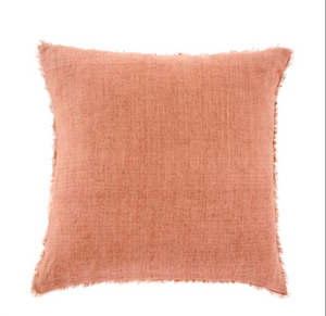Linen Pillow- Redwood