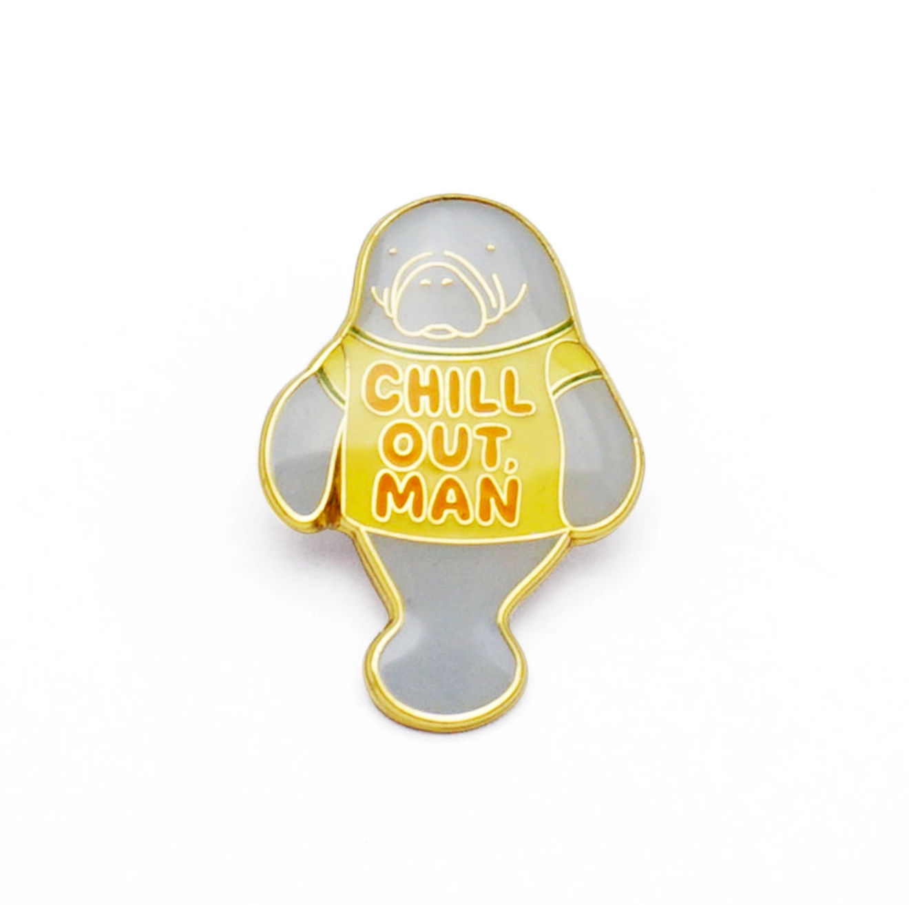 Enamel Pin- Chill Out Man