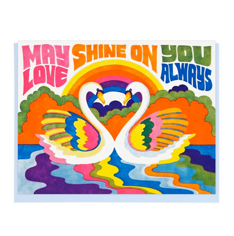 Greeting Card- May Love Shine On You Always