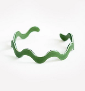 Ecoresin Squiggle Bangle
