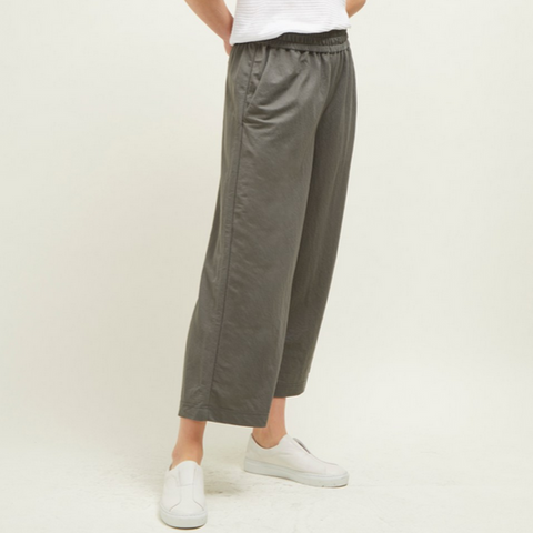 Cali Deta Wide Cropped Trouser