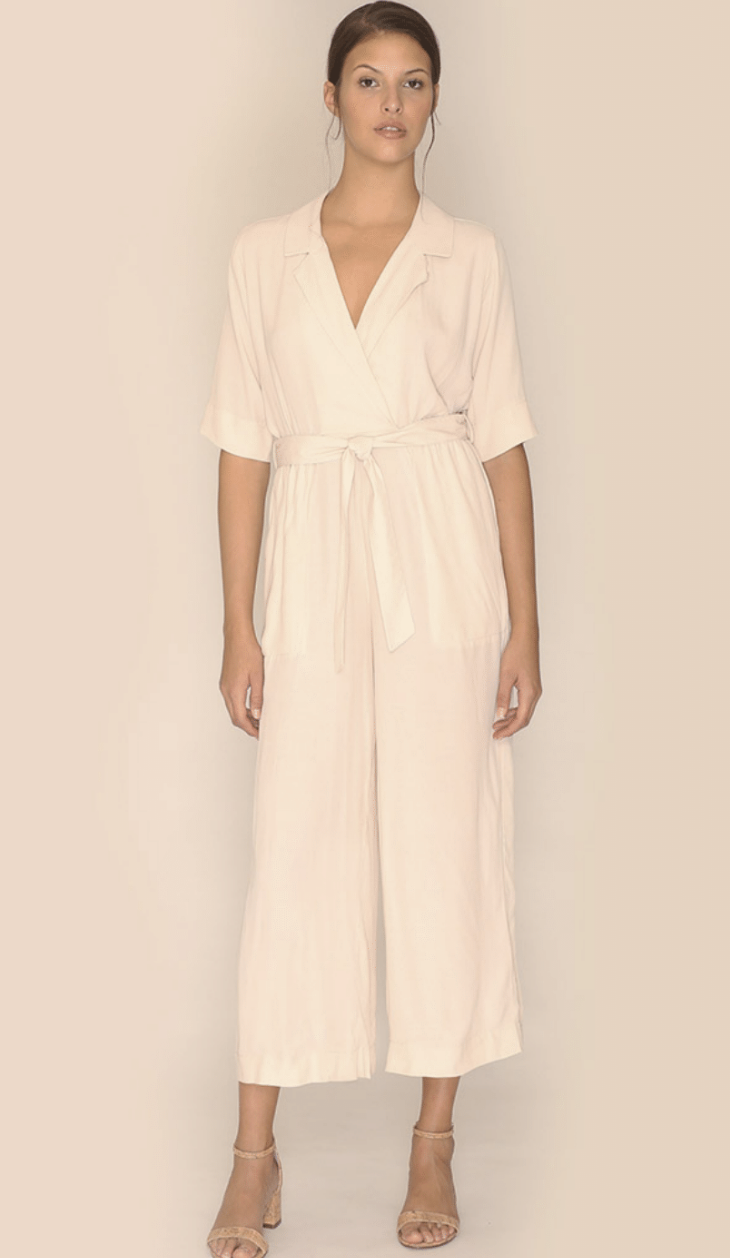 Blanche Playsuit, Ivory