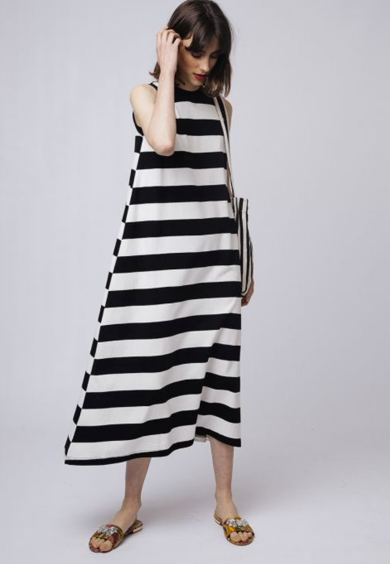 Dress, Stripe
