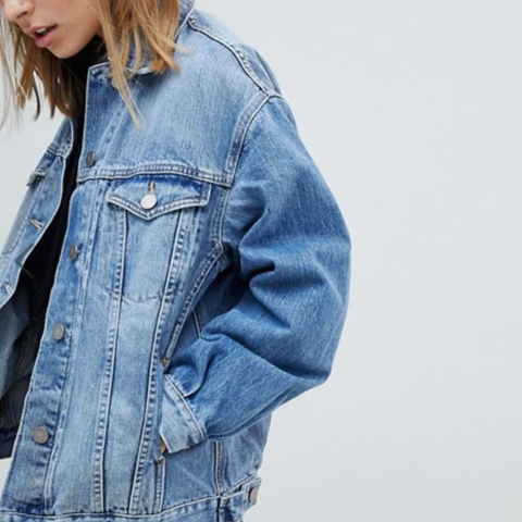 Boyfriend Jacket, Denim