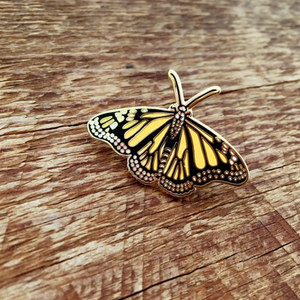 Enamel Pin, Monarch