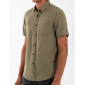 Saul Shirt, Cotton Gauze