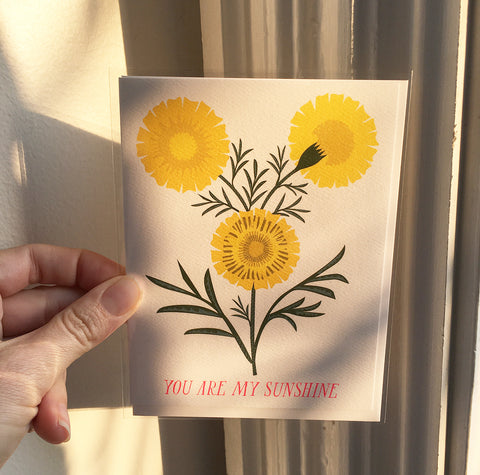 Greeting Card- You are my Sunshine