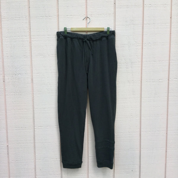 Men's Cotton Fleece Drawstring Jogger, Vintage Black