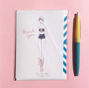 Eady Card, Bandeau Thank You