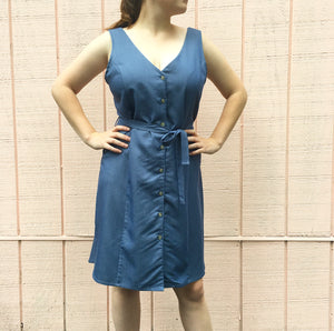 Micka Dress, Blue