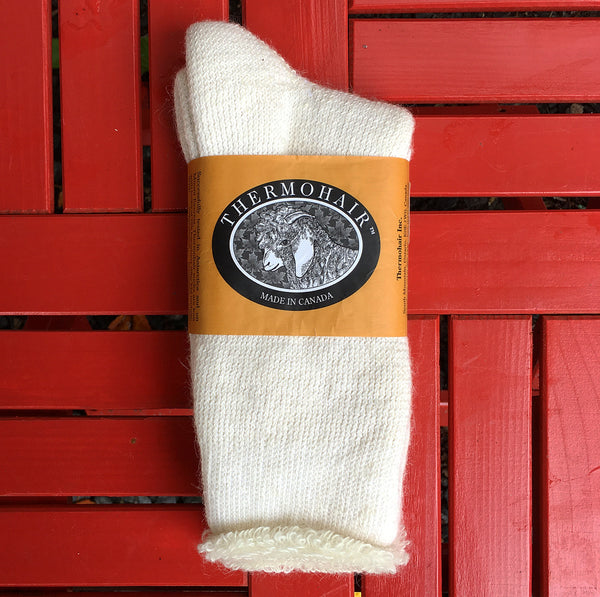 Thermohair Sock- Natural