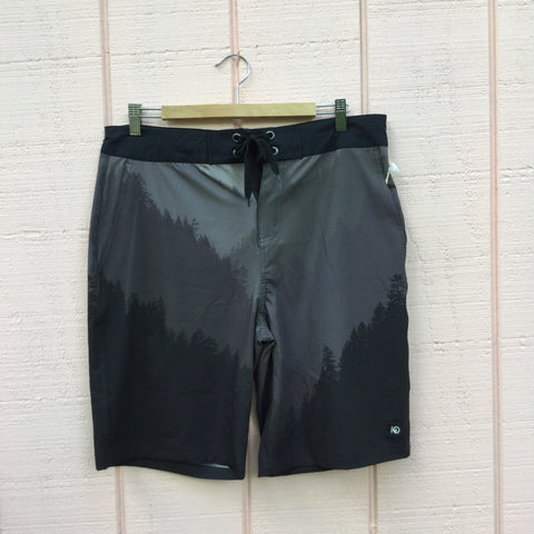 Tobin Swim Trunk, Black