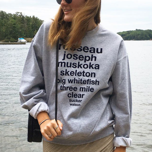 Muskoka Lakes Sweater