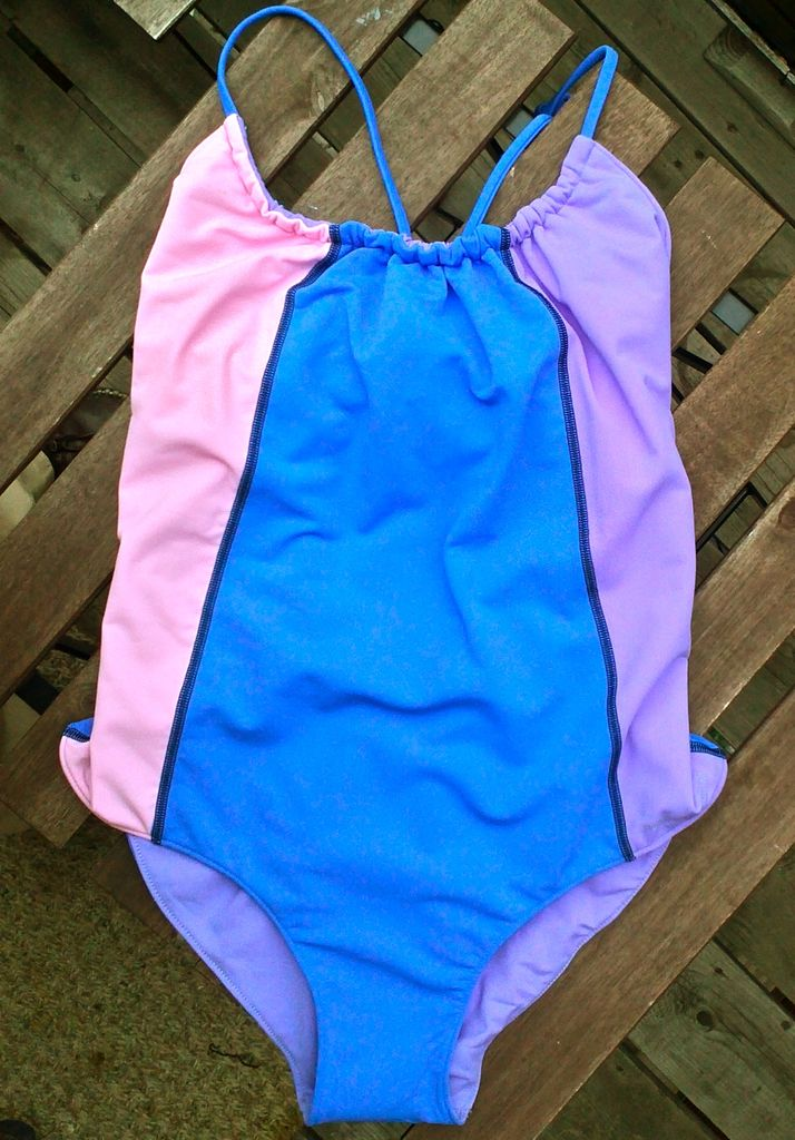 The Woods Bather in Pink/Blue/Purple