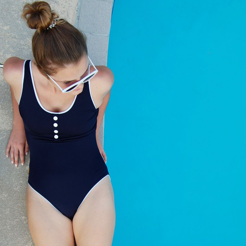 The Laps Suit in Navy