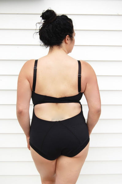 The Water Lily Suit in Black