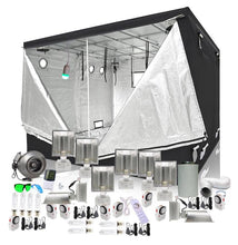 Load image into Gallery viewer, 10x10ft Grow Pro 315w CMH & LED Grow Tent Kit