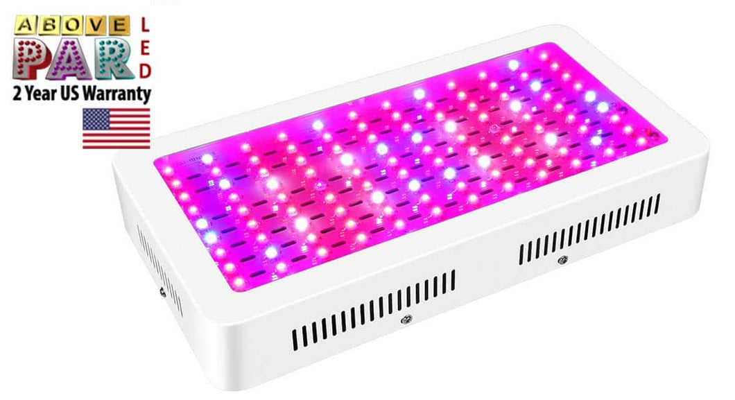 1200w Above PAR LED Grow Light with UV & IR