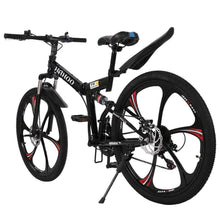Load image into Gallery viewer, 26 Inch Folding Mountain Bike