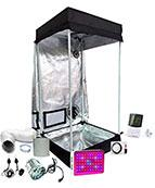 2x2ft 4ft Tall LED Grow Tent Kit