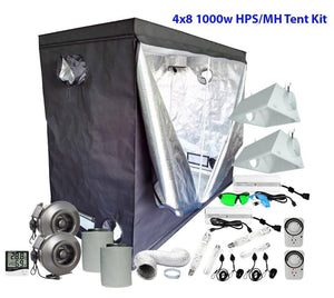 4x8ft 1000w HPS/MH Grow Tent Kit
