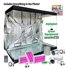 Load image into Gallery viewer, 4x8ft Above PAR LED Grow Tent Kit