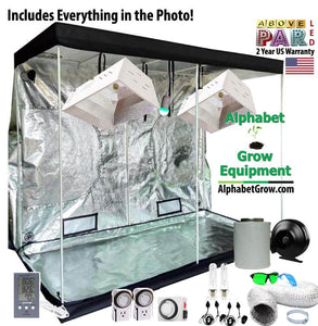 4x8ft Grow Pro 315w CMH & LED Grow Tent Kit