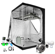 Load image into Gallery viewer, 5x5 ft Above PAR LED Grow Tent Kit