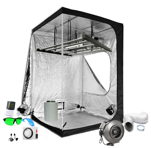 5x5 ft Above PAR LED Grow Tent Kit