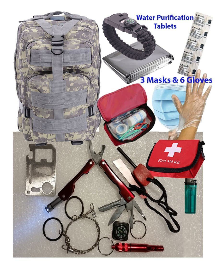 Survival Backpack Kit