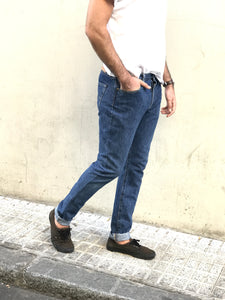 LEVIS SLIM FIT re-design DORADO VINTAGE · TONO MEDIO· TALLA 32 - 52