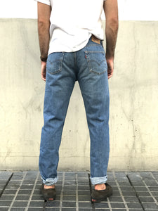 LEVIS SLIM FIT re-design DORADO VINTAGE · TONO CLARO· TALLA 32 - 52