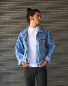 VINTAGE DENIM JACKET TONO CLARO - VARIAS TALLAS DISPONIBLES