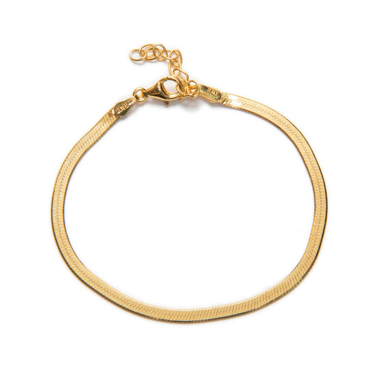 PULSERA MAGIC • PLATA 925 BAÑO ORO 24K
