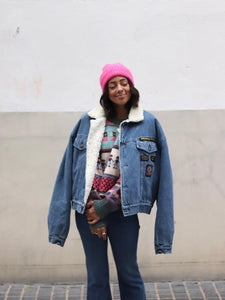 SHERPA DENIM JACKET (forro interior borreguito)