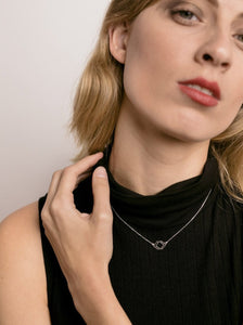 COLLAR RHOMBUS MINI - PLATA 295