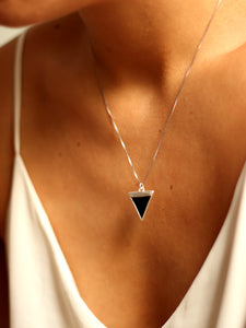 PACK: COLLAR + PENDIENTES BARRA UNIS - PLATA 925