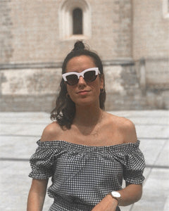 LADY SUNNIES - BLACK & WHITE