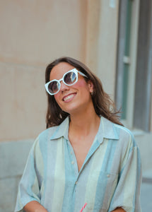 GEOMETRIC CREME · SUNNIES