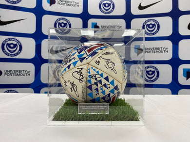 2019/20 Sky Bet League One Match Ball Signed by Portsmouth FC Squad