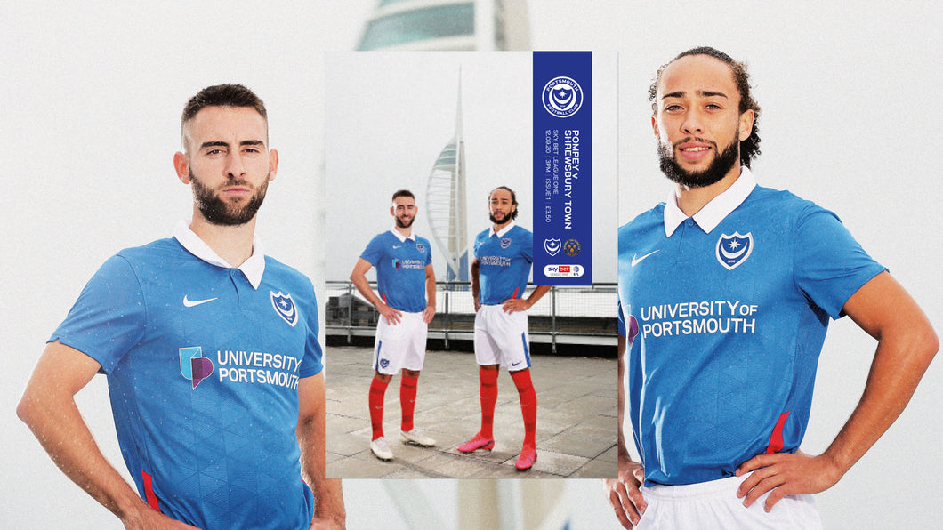 Pompey 2020/21 Season Programme Bundle