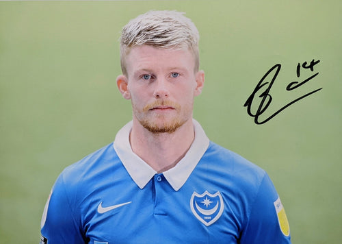 2020/21 Season Andy Cannon Signed Photo