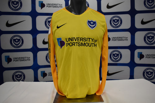 Alex Bass 2019/20 Signed Match Isuued Away Goalkeeper Shirt