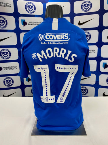 2019/20 Bryn Morris match-worn signed Home Shirt