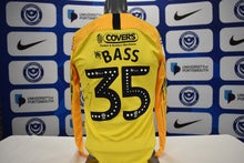Load image into Gallery viewer, Alex Bass 2019/20 Signed Match Isuued Away Goalkeeper Shirt