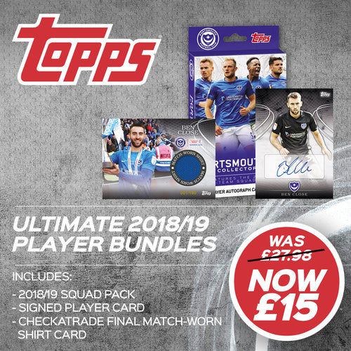 Ben Close Topps Collectible Ultimate Pack