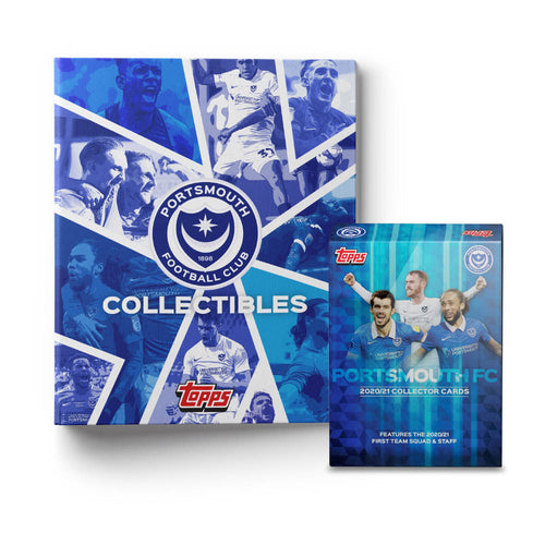 Limited Edition 2020/21 'Topps' Collectable Card Fully Signed Squad Pack & Junior Binder