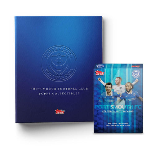Limited Edition 2020/21 'Topps' Collectable Card Fully Signed Squad Pack & Premium Binder