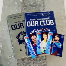 Load image into Gallery viewer, Signed Our Club DVD and Topps Card Bundle