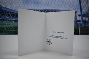Christmas Card signed by John Marquis!